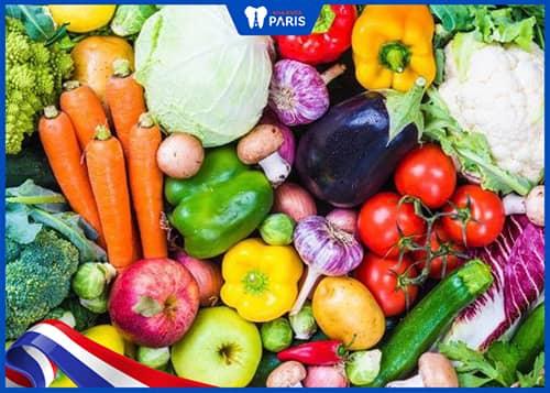 Ăn Các loại rau củ giàu chất xơ giúp chữa tụt lợi