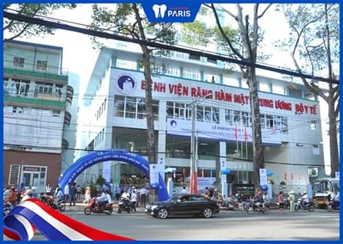 Bệnh viện Răng - Hàm - Mặt Trung Ương TP.HCM