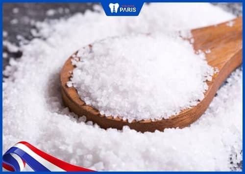 Cách chữa viêm tủy răng ở nhà bằng muối