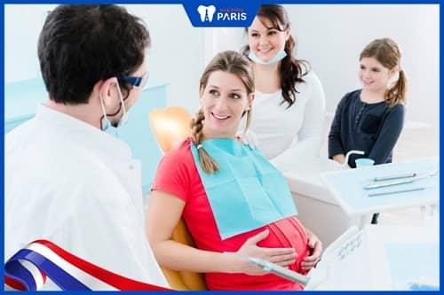 Chánh việc viêm tủy răng ở bà bầu bằng cách đi khám tại nha khoa