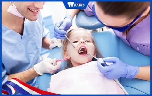 Chữa một phần răng sữa ở trẻ