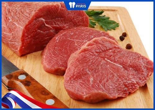 Đau mọc răng khôn có được ăn thịt bò không?
