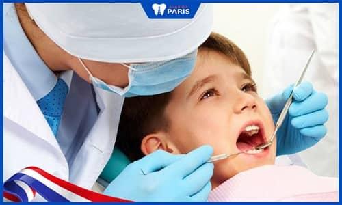 Diệt tủy răng sữa ở trẻ nhỏ