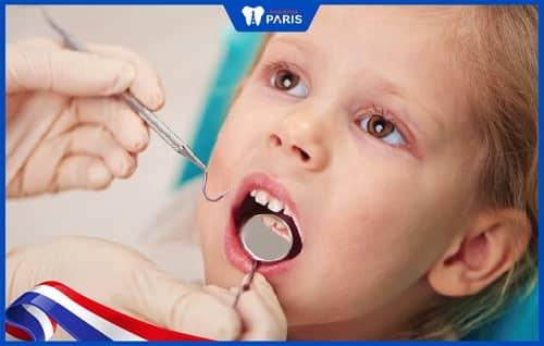 Chữa tủy răng cho trẻ bằng phương pháp gián tiếp