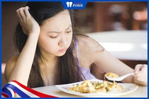 Rụng răng ảnh hưởng khả năng ăn nhai