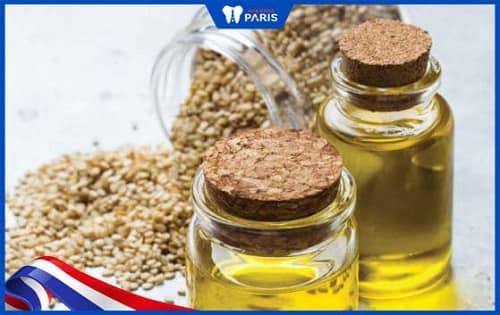Dùng dầu Arimedadi chữa viêm lợi