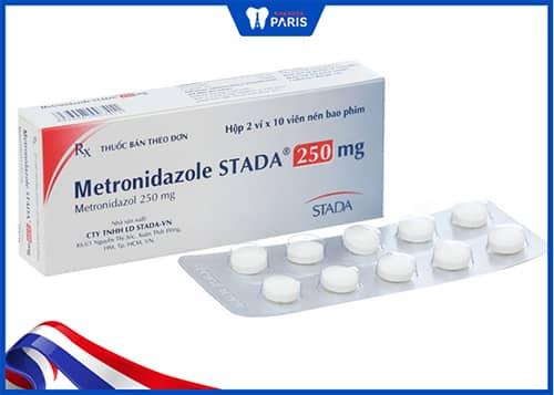 Thuốc trị viêm lợi Metronidazol Stada
