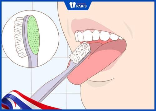 Hướng dẫn cạo lưỡi cho sạch đúng cách