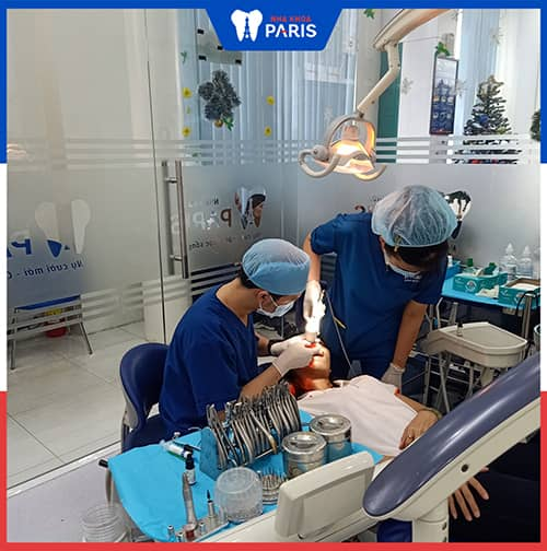 Nhổ răng khôn còn sót chân Do kỹ thuật,tay nghề của bác sĩ