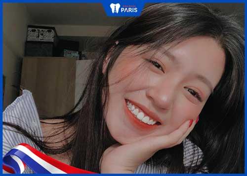Mẫn Tiên với nụ cười tỏa nắng đẹp