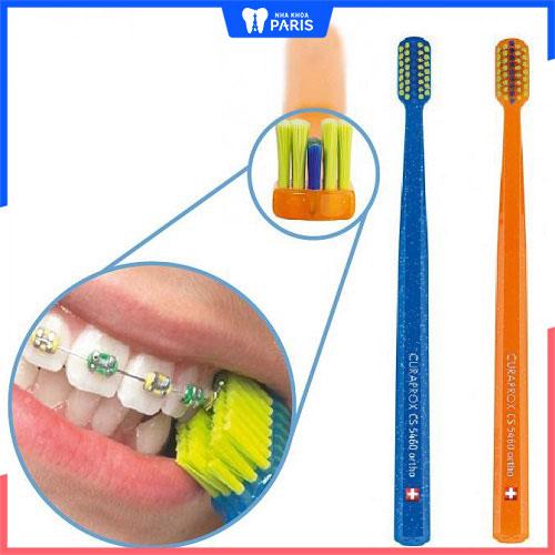 bàn chải cho răng niềng curaprox cs 5460 ortho