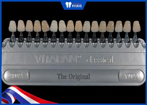 Bảng màu răng sứ Vita Classic