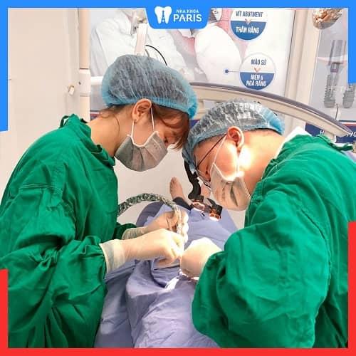 nha khoa Paris lấy tủy răng an toàn