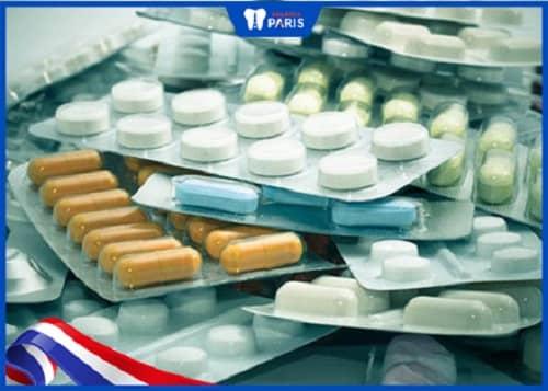 uống thuốc giảm đau khi niềng răng invisalign