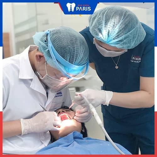 quy trình điều trị sâu răng lỗ lớn