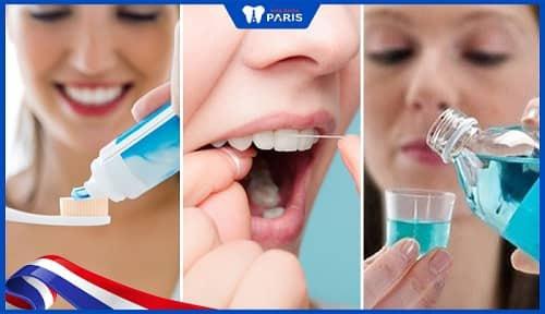 vệ sinh chăm sóc sau khi trám răng thưa