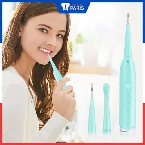 nên dùng máy lấy cao răng ở nhà hay tới nha khoa
