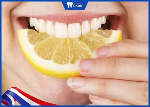 cách làm răng hết ố vàng