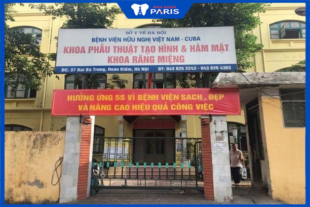 niềng răng an toàn tại bệnh viện Việt Nam Cuba