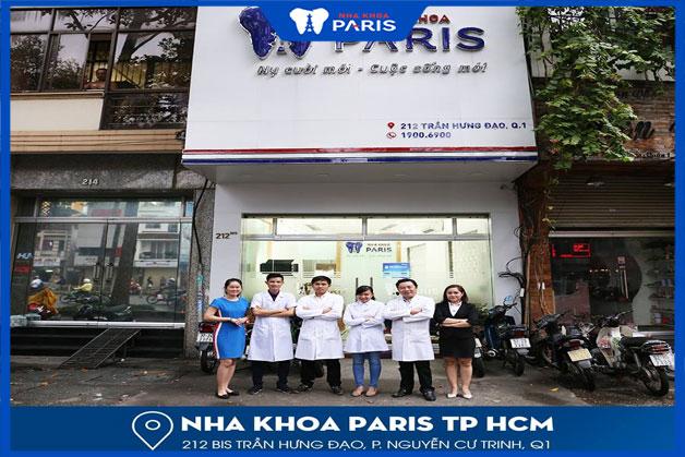 niềng răng tại nha khoa paris TPHCM