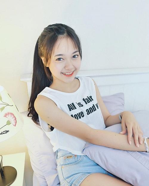 Pornsawan Phusua hot girl niềng răng ở Thái Lan