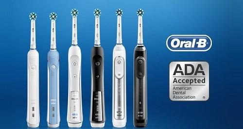 bàn chải điện oral-b chính hãng