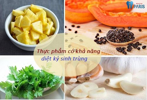 Những thực phẩm có khả năng điều trị hôi miệng ký sinh trùng