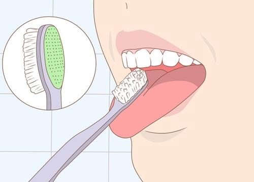 cạo lưỡi trước hay sau khi đánh răng