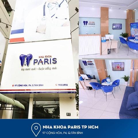 Nha khoa Paris là địa chỉ chỉnh nha ở TPHCM uy tín, chất lượng