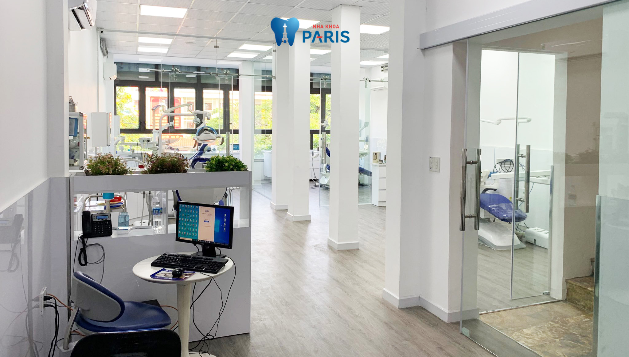 Cơ sở vật chất xứng tầm tiêu chuẩn Pháp tại nha khoa Paris
