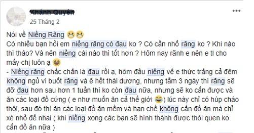 hội niềng răng chỉnh nha facebook