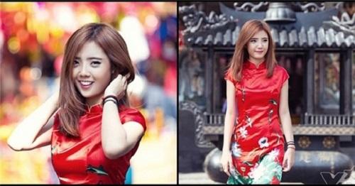 Hot girl chỉnh nha Lâm Á Hân
