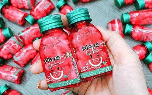 Kẹo ngậm thơm miệng thái lan play candy