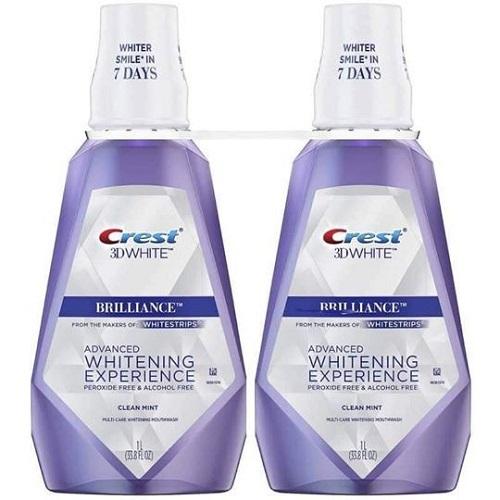 Nước súc miệng Crest mấy loại? Review nước súc miệng Crest 3d White