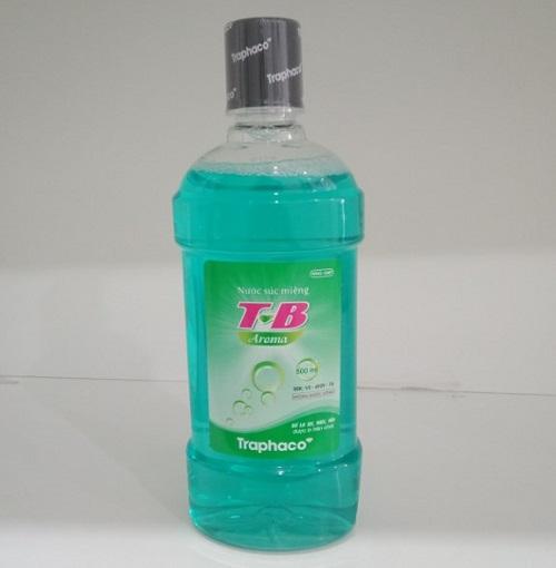 nước súc miệng t-b traphaco aroma