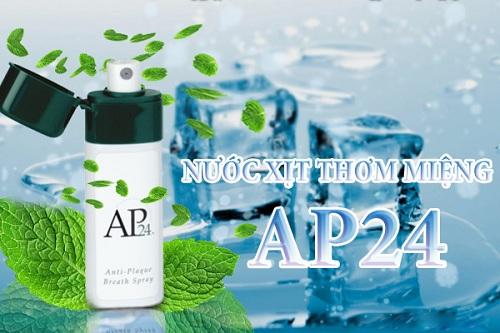 Nước xịt thơm miệng AP24