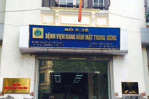 Bệnh viện Răng hàm mặt TW là địa chỉ phẫu thuật hàm hô ở Hà Nội uy tín