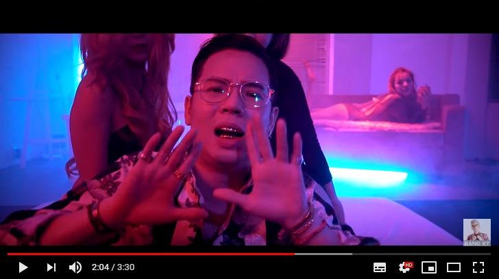 Răng andree trong MV mới nhất