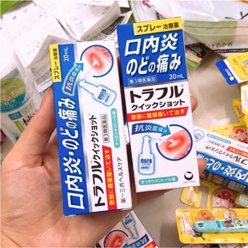 thuốc trị nhiệt miệng của nhật
