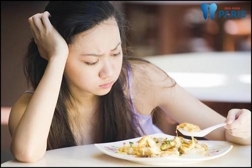 tiêu xương hàm có nguy hiểm không Ăn nhai kém