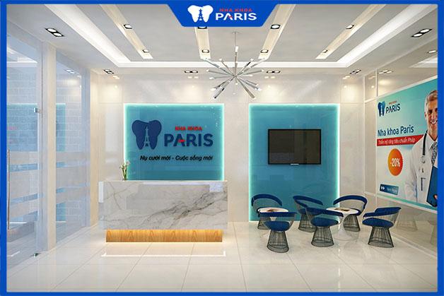 Trồng hàm răng sứ tại nha khoa Paris